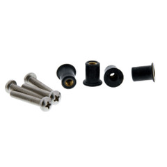 Scotty 133-100 Well Nut Mounting Kit - 100 Pack [133-100]