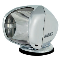 Marinco SPL-12C Wireless Spot Light - 100W - 12\/24V - Chrome [SPL-12C]