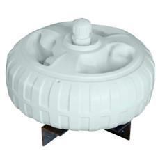 "Dock Edge Inflatable Dock Wheel - 18"" - White [95-077-F]"