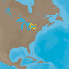 C-MAP  4D NA-D934 Lake Ontario and Trent Severn [NA-D934]