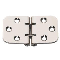 Whitecap Flush Mount 2-Pin Hinge - 304 Stainless Steel - 2-13\/16 x 1-9\/16 [S-3705]