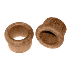 """Whitecap Teak Finger Pull - 5\/8"""" Barrel Length - 2 Pack [60145-A]"""