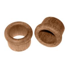 """Whitecap Teak Finger Pull - 1"""" Barrel Length - 2 Pack [60146-A]"""