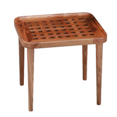 Whitecap Teak Cockpit Grate End Table [60020]
