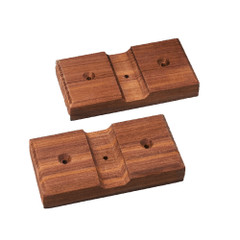 Whitecap Teak Rod Storage Rack Mounting Brackets - Pair [60609]