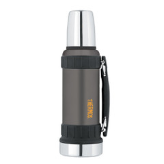 Thermos Work Series Vacuum Insulated Beverage Bottle - 40 oz. - Gunmetal Gray [2520GMTRI2]