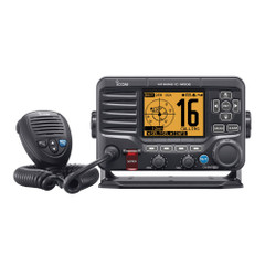 Icom M506 VHF Fixed Mount w\/Front Mic & NMEA 0183\/2000 - Black [M506 11]