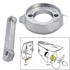 Tecnoseal Anode Kit w\/Hardware - Volvo 280 - Aluminum [20701AL]