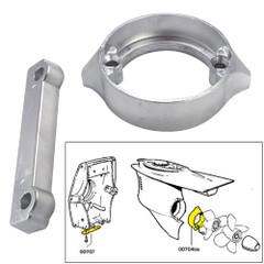 Tecnoseal Anode Kit w\/Hardware - Volvo Duo-Prop 280 - Aluminum [20702AL]