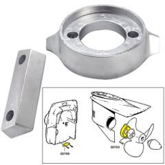 Tecnoseal Anode Kit w\/Hardware - Volvo 290 - Aluminum [20705AL]