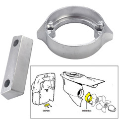 Tecnoseal Anode Kit w\/Hardware - Volvo Duo-Prop 290 - Aluminum [20706AL]