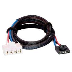 Tekonsha Brake Control Wiring Adapter - 2 Plug - fits Dodge, RAM, Chrysler [3020-P]
