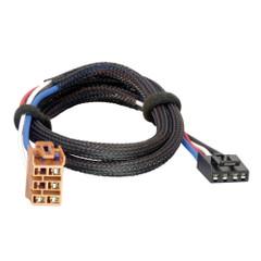 Tekonsha Brake Control Wiring Adapter - 2 Plug - fits GM, Chevrolet, Cadillac [3025-P]