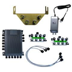 KVH TracVision HD7\/HD11 SWM Expander Kit - 16 Tuner [72-0452-01]