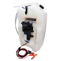 Jabsco Flat Tank Oil Changer System - 3-1\/2 Gallon Tank - 12V [17860-2012]