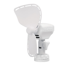 "Caframo Ultimate 747 12V 2-Speed 7"" Fan w\/Lighter Plug - White [747DCWCS]"