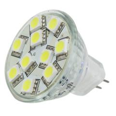 Lunasea MR11 10 LED Light Bulb - Cool White [LLB-11TD-61-00]