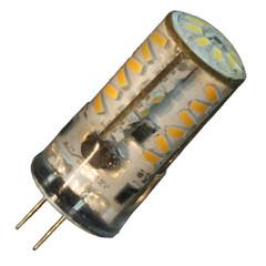 Lunasea G4 Bottom Pin Silicone Encapsulated LED Light Bulb - Warm White [LLB-21HW-61-00]