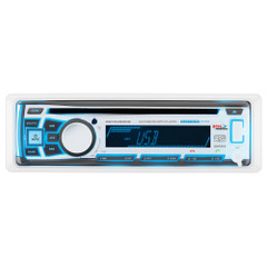 Boss Audio MR762BRGB Single DIN Bluetooth Enabled In-Dash MP3\/CD\/CDRW\/AM\/FM Receiver [MR762BRGB]