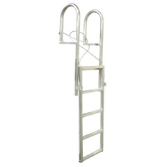 Dock Edge SLIDE-UP Aluminum 5-Step Dock Ladder [2035-F]
