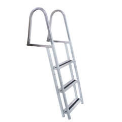 Dock Edge STAND-OFF Aluminum 3-Step Ladder w\/Quick Release [2053-F]