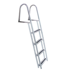 Dock Edge STAND-OFF Aluminum 4-Step Ladder w\/Quick Release [2054-F]