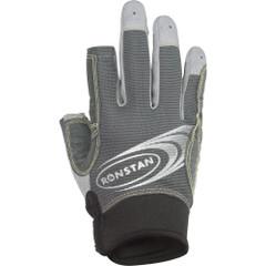 Ronstan Sticky Race Gloves w\/3 Full & 2 Cut Fingers - Grey - X-Large [RF4881XL]