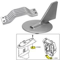 Tecnoseal Anode Kit w\/Hardware - Yamaha 150-200HP - Magnesium [21101MG]