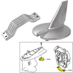Tecnoseal Anode Kit - Yamaha 200-250 HP - Magnesium [21104MG]