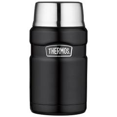 Thermos Stainless Steel King Food Jar - Black - 24 oz. [SK3020BKTRI4]