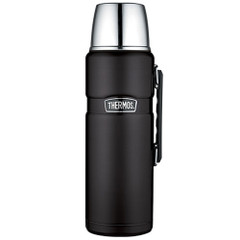 Thermos Stainless King Vacuum Insulated Beverage Bottle - Black - 2L [SK2020BKTRI4]
