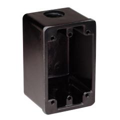 Marinco FS Box Black f\/15A, 20A, 30A Receptacles [6080]