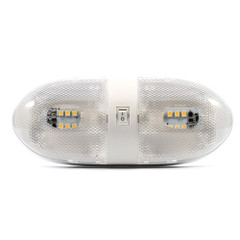 Camco LED Double Dome Light - 12VDC - 320 Lumens [41321]