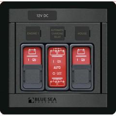 Blue Sea 1147 Remote Control Panel w\/(2)2145 & (1)2146 Remote Control Contura Switch [1147]