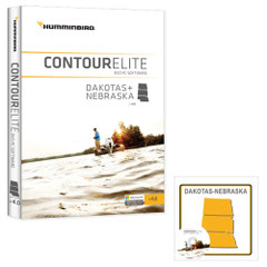 Humminbird Contour Elite - Dakotas\/Nebraska - Version 4 [600014-2]