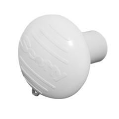 Scotty Hammer Head Rod Butt Cushion - White [0425-WH]