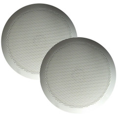 "Majestic SPK50 Ultra Slim 5"" Speakers 30W - White Pair [SPK50]"
