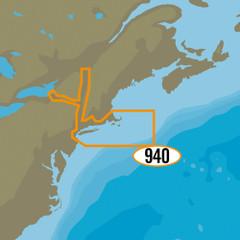 C-MAP MAX-N+ NA-Y940 - Cape Cod, Long Island & Hudson River [NA-Y940]
