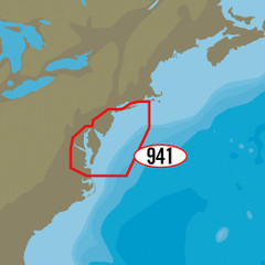 C-MAP MAX-N+ NA-Y941 - Block Island to Norfolk [NA-Y941]