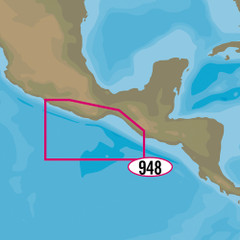 C-MAP MAX-N+ NA-Y948 - Champerico, GT to Acapulco, MX [NA-Y948]