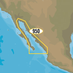 C-MAP MAX-N+ NA-Y950 - Gulf of California, Mexico [NA-Y950]