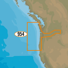 C-MAP MAX-N+ NA-Y954 - Cape Blanco to Cape Flattery [NA-Y954]