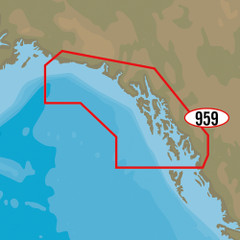 C-MAP MAX-N+ NA-Y959 - Dixon Enterance to Cape St. Elias [NA-Y959]