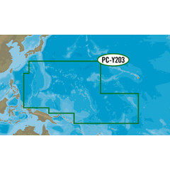 C-MAP MAX-N+ PC-Y203 - Carolinas, Kiribati, Marshall, & Marinas [PC-Y203]