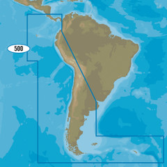 C-MAP MAX-N+ SA-Y500 - Costa Rica to Chile to Falklands [SA-Y500]