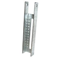 """C.E. Smith Vertical Bunk Bracket Lanced - 9-1\/2"""" [10600G40]"""