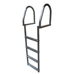 Dock Edge Aluminum 4-Step Eco Flip-Up Dock Ladder - Weld Free [2174-F]
