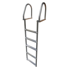 Dock Edge Aluminum 5-Step Eco Flip-Up Dock Ladder - Weld Free [2175-F]