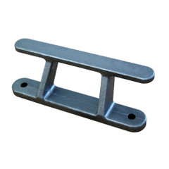 "Dock Edge Dock Builders Cleat - Angled Aluminum Rail Cleat - 8"" [2428-F]"