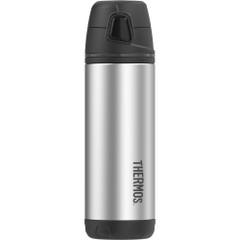 Thermos Element5 Stainless Steel, Insulated Double Wall Backpack Bottle - Black - 16 oz. [TS4504BK4]